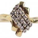 14k Gold Diamond Ring Size