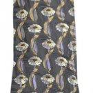 Ermenegildo Zegna 100% Pure Silk Zig Zag Floral Tie EZTTY04