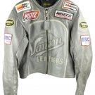 Vanson Men's Star Leather Motorcycle Mhmlm2 Motorcycle Jacket