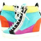 Giuseppe Zanotti Multi-color Sneaker Lbslm57 Wedges