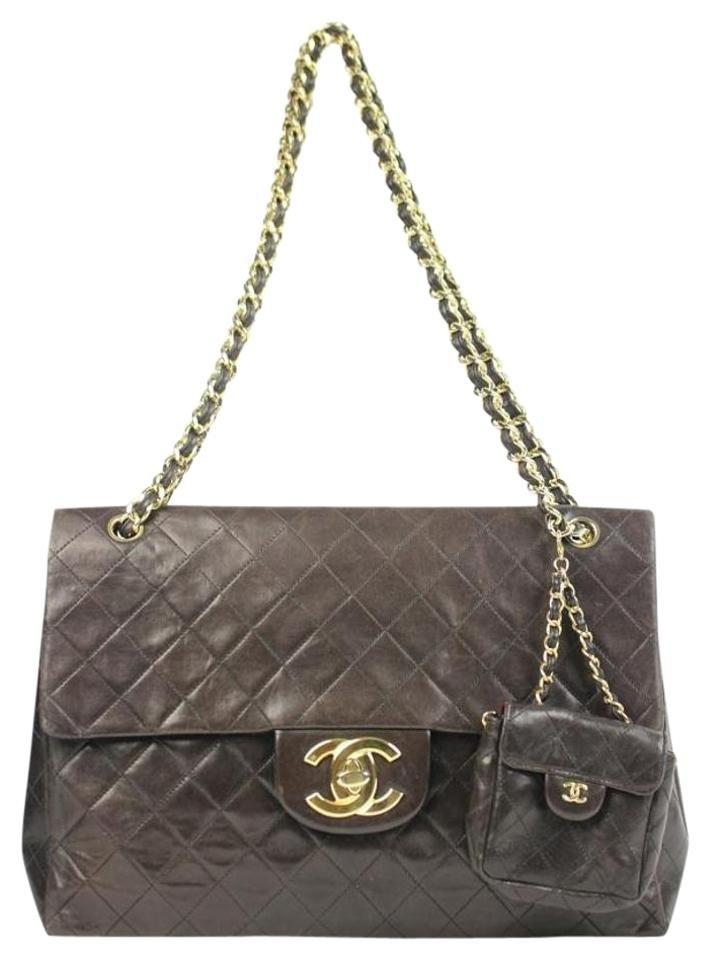 Chanel Classic Flap (w/ Mini Flap Bag) Ccmav02 Shoulder Bag