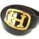 Hermès Rare H Logo Belt 207677