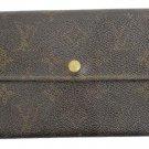 Louis Vuitton Monogram Sarah Wallet LVTL23