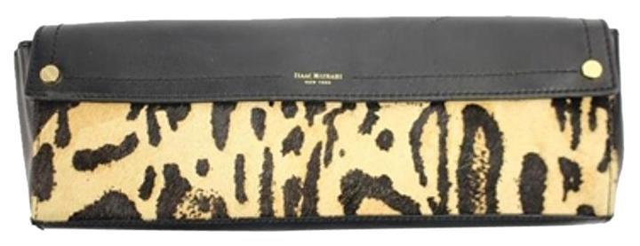 Isaac Mizrahi (display Model) Fur Lileth Ismlm1 Leopard Clutch