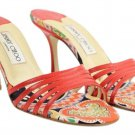 Jimmy Choo River Kid 986 Red 12jca919 Sandals