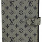 Louis Vuitton Mini Lin Blue Grey Idylle Agenda PM LVALM1