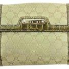 Céline Celine Monogram Canvas & Croc Wallet CELM55
