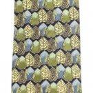 Ermenegildo Zegna Leaves Leaf Patterned Printed Tie EZTTY17