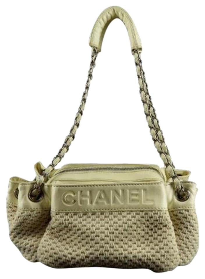 Chanel Woven Chain Tote 205723 Shoulder Bag