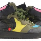 Valentino Rock Be High-top Sneakers (women's 9.5 Men's 7) Vle01s Camouflage Athletic Shoes