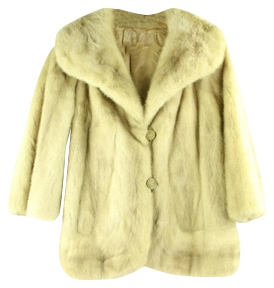 Tan Fur Furlm9 Fur Coat