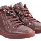 Chanel 15k Tweed Lambskin Sneakers 37cca1014 Athletic Shoes
