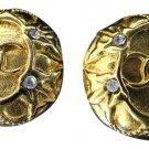 Chanel CC Crystal Earrings 211076
