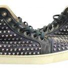 Christian Louboutin Rare Louis Flat Denim Black Jean 44 11 Lmcl04 66cla812 Denim/blue Athletic Shoes