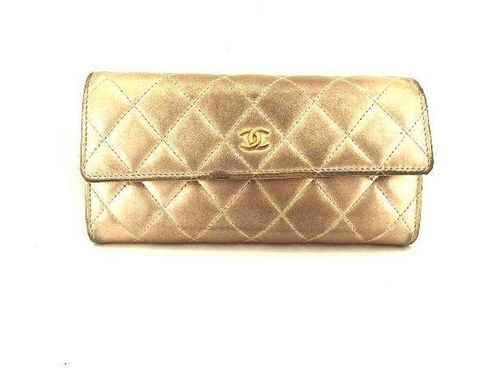 Chanel Metallic Flap CC Wallet 211000