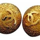 Chanel CC Gold Earrings 211232