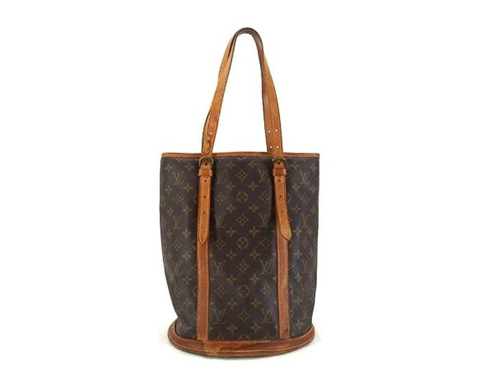 Louis Vuitton Monogram Bucket Gm W/ Clutch 211419 Tote Bag