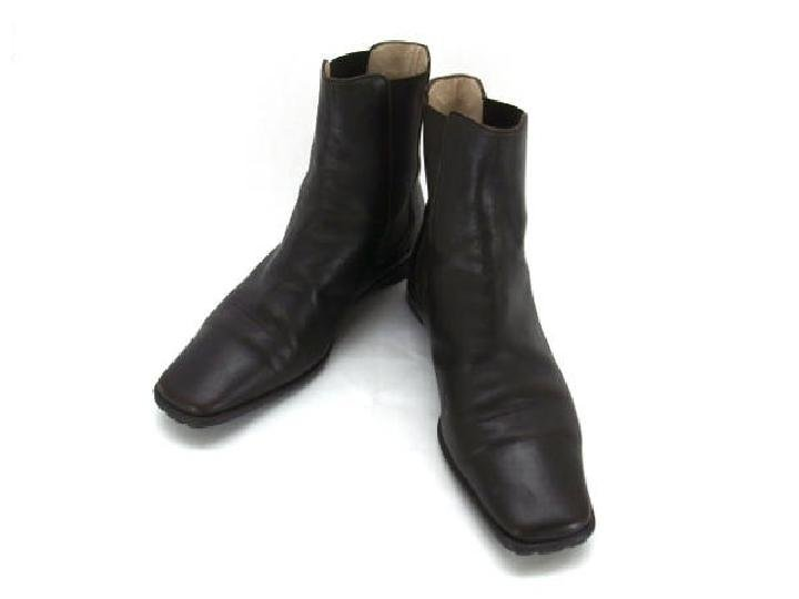 Chanel Brown Chelsea 211813 Dark Brown Boots