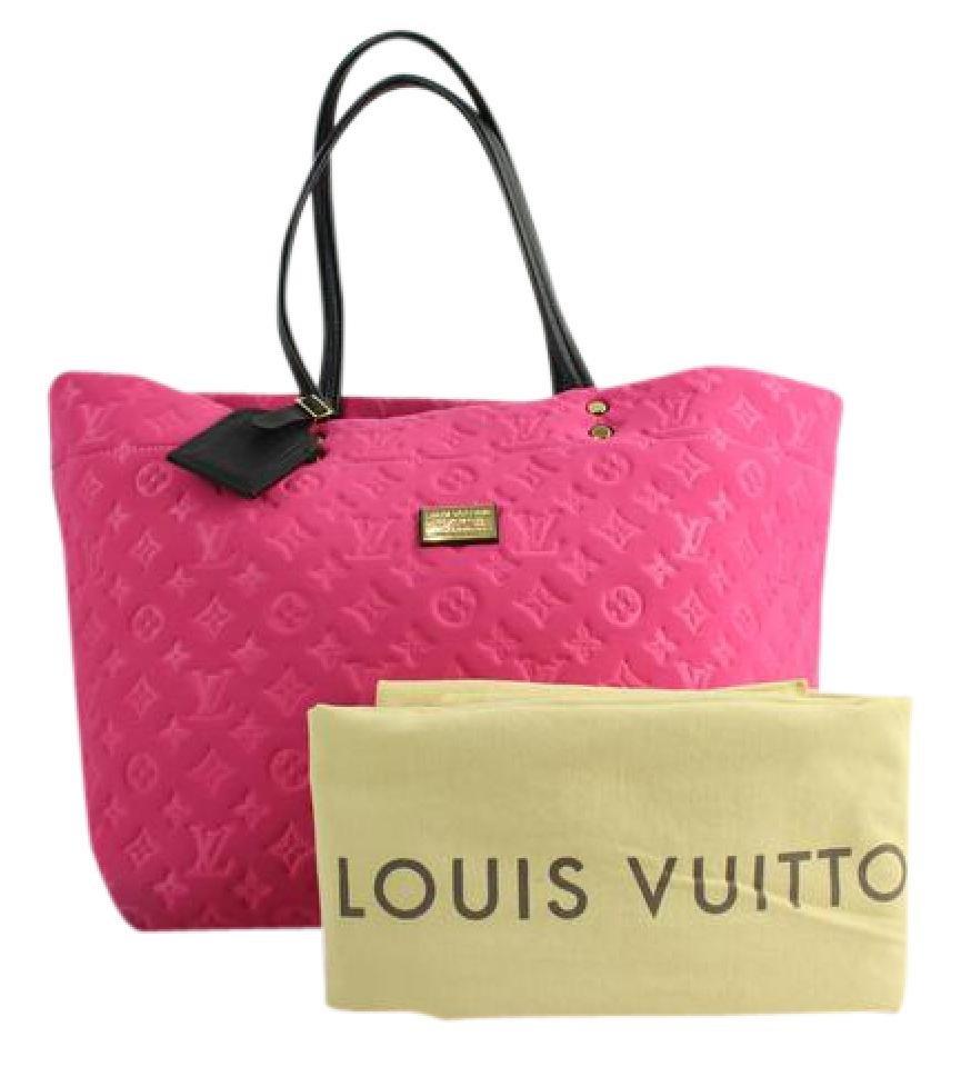 Louis Vuitton Neoprene Scuba Neverfull 4lva12317 Pink Tote Bag