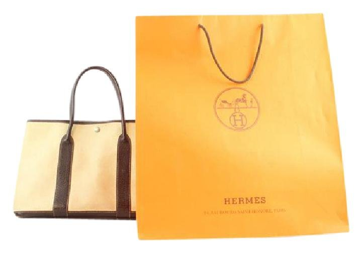 Hermès Bordeaux Garden Party 213827 Tote Bag