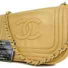 Chanel ( Excellent - ) Quilted Half Moon Flap 214435 Shoulder Bag