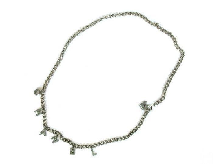 Chanel 02A CC Name Chain Belt 214631