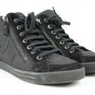 Chanel Quilted Cc High Top Sneakers 32cca3917 Black Athletic Shoes