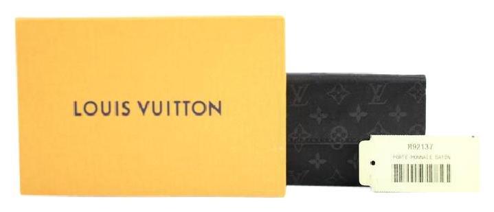 Louis Vuitton Monogram Satin Porte-monnaie Coin Case 70LVA3917