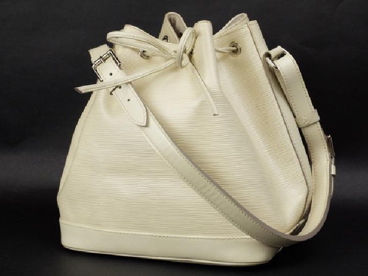 Louis Vuitton Ivory Epi Noe Hobo 213511 Shoulder Bag
