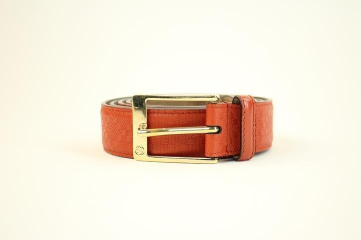 Gucci Embossed Guccissima Imprime Belt 1GGTY223 Belt Size 42