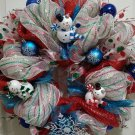 Winter Wonderland Holiday Christmas Wreath