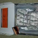 Mountrek Women's Silver Plaid Winter Boots Size 9