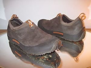 Merrell Women's Improv Moc Water Resistant Slip On Shoes Chocolate Brown Sz 9