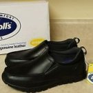 Dr.Scholl's Advanced Comfort Series, Men's Gel Cushion,Black Leather Shoes Sz.8
