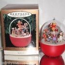 "Hallmark Motion & Magic ""Winnie the Pooh Parade"" Holiday/Christmas ornament"