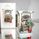 "Hallmark Keepsake""Christmas Window 2009"",Chocolate Shop,Christmas Ornament,NIB"