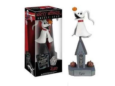 ZERO,Wacky Wobbler,Bobble-Head,The Nightmare Before Christmas,SPECIAL EDITION!