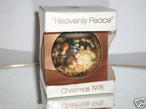 Schmid 1978 Heavenly Peace Christmas Ornament