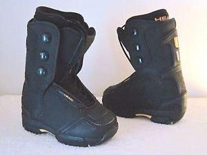 HEAD SNOWBOARD BOOTS - Black -Boot Size 20.5  NEW