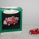 Hallmark 1996, Miniature Ornament Murray Fire Truck Kiddie Car Classics