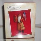 "Hallmark"" North Pole Patriot "" Holiday Ornament,Christmas Ornament"