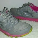 Reebok Sublite Foam Ladies Sneakers,Color:Grey/Pink,Size 11