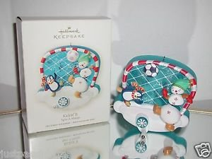 "Hallmark ""Kickin'It"" Spin-A-Majigs,Soccer  Holiday Ornament,Christmas Ornament"