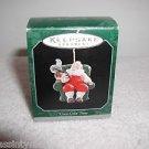 "Hallmark ""Coca-Cola Time Santa"" Miniature, Holiday Ornament,Christmas Ornament"