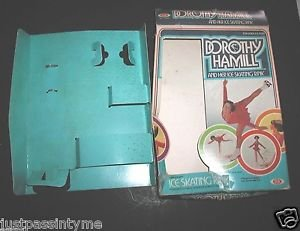 Vintage 1977 DOROTHY HAMILL and Her ICE SKATING RINK,BOX ONLY WITH INSERT