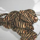 Ty Stripes Beanie Baby,Early 1st Version,Dark Orange & Black,2nd Gen Tush Tag