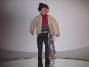 "Vintage Handmade Collectors Character 7"" Doll  by JAY of Dublin"