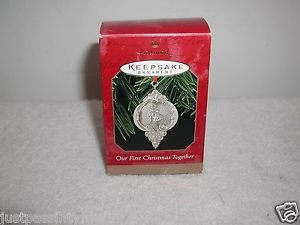 """Hallmark """"Our First Christmas Together"""" Holiday Ornament,Christmas Ornament NEW"""
