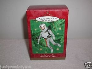 "Hallmark ""G.I.Joe Action Pilot"" Ornament,Christmas Ornament"