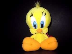 TY  LOONEY TUNES BEANIE, TWEETY BIRD, BRAND NEW WITH TAGS!